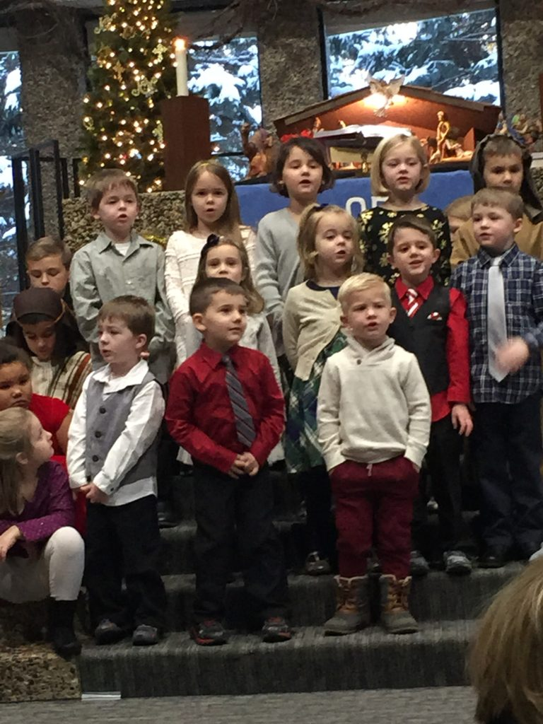 King's Messengers Choir (Preschool – 1st Grade)