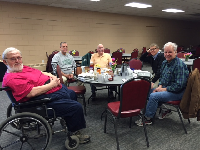 Men's Breakfast and Bible Study