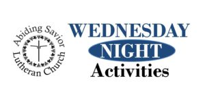 Wednesday night activities resume!