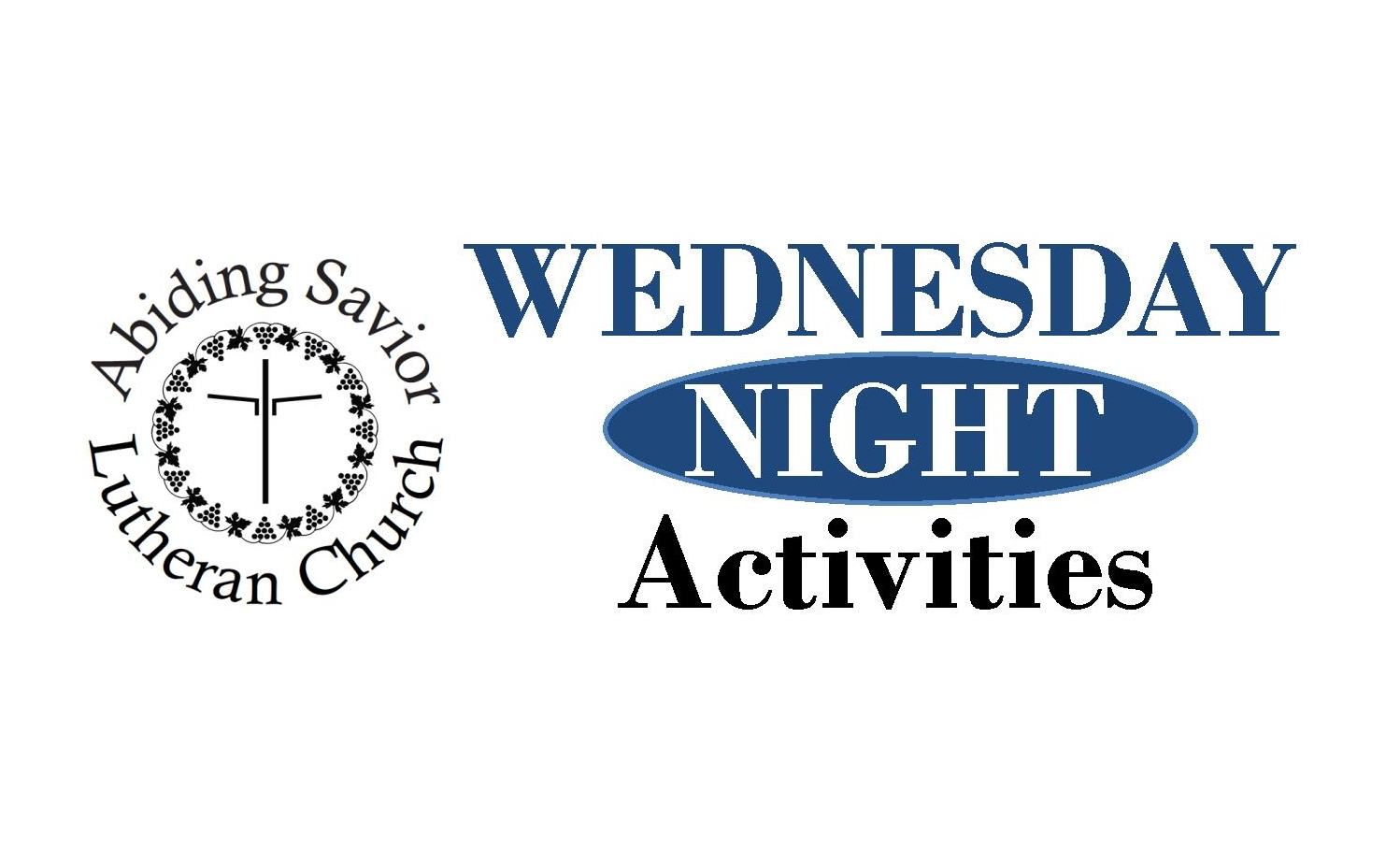 Join us for Wednesday night activities!