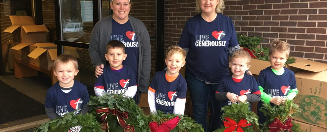 Preschool fundraiser pick up!