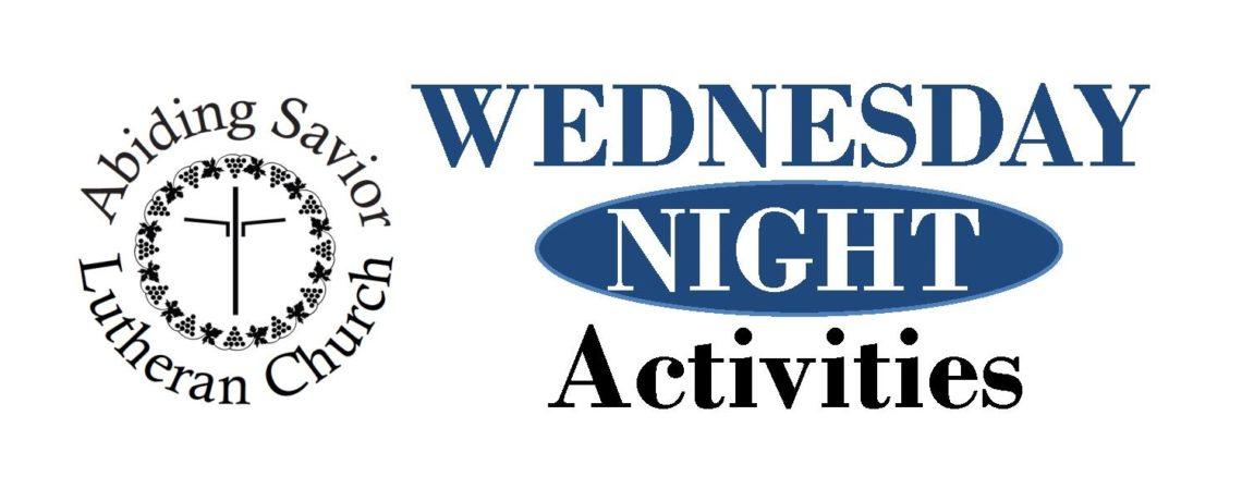 Wednesday nights at Abiding Savior
