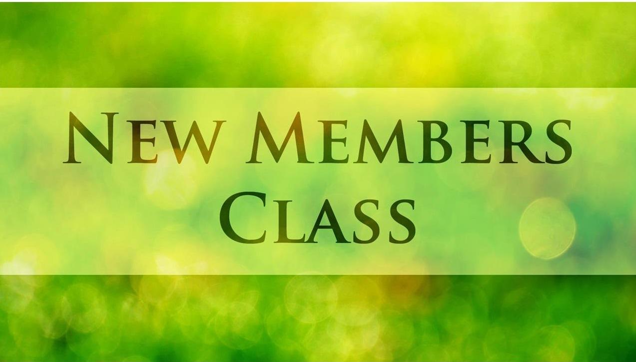 New member class:  February 20th
