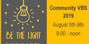 Be the Light – VBS 2019