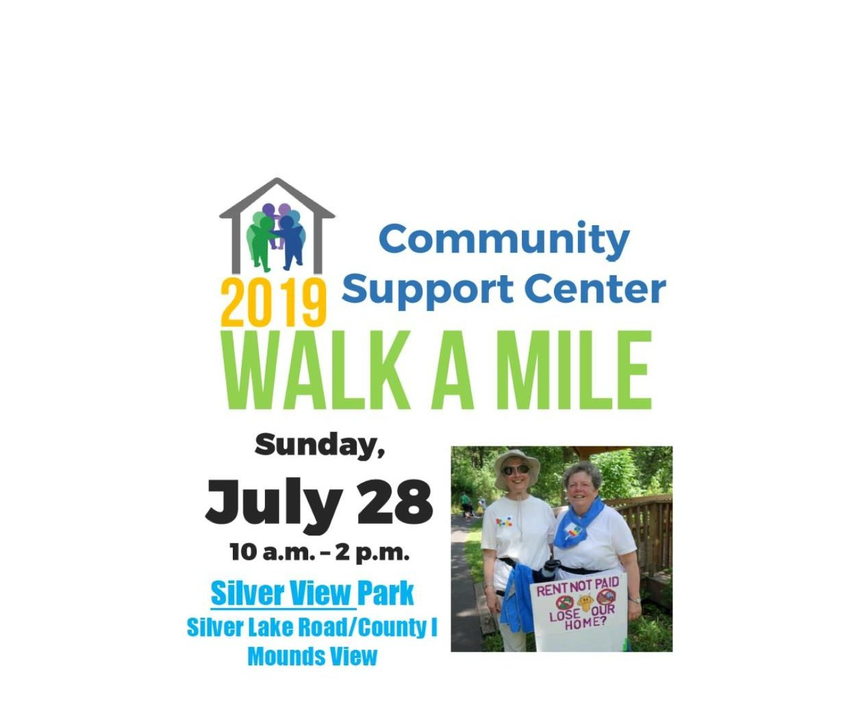 Walk to support the Community Support Center!