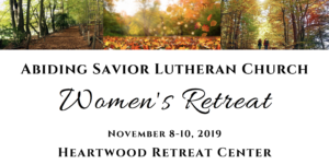 Register for the Women's Fall Retreat!