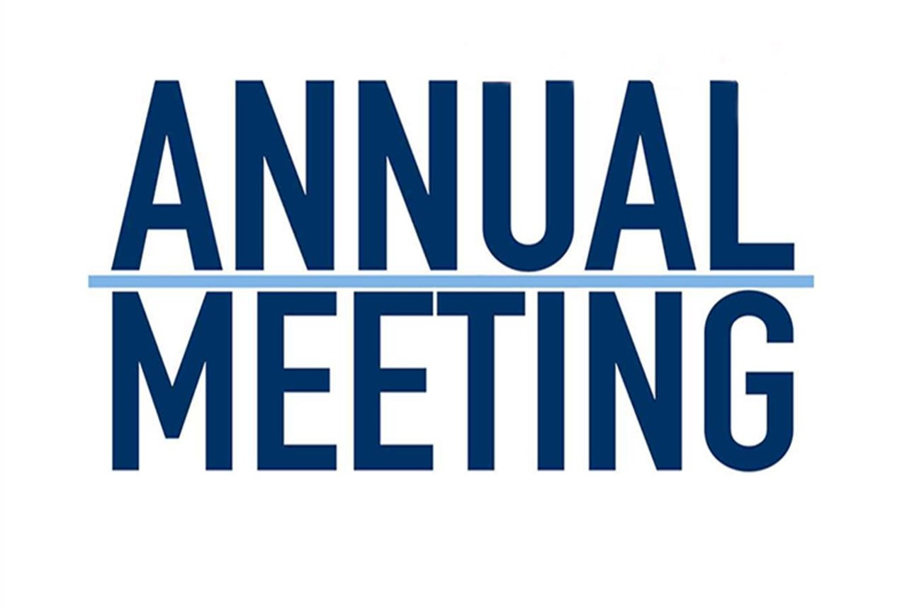 Annual Meeting – Sunday, January 26th at noon