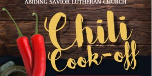 Come to the Chili Cook-Off!