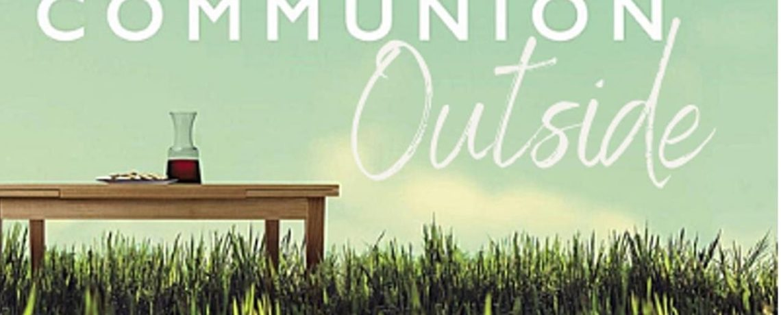 Communion and prayer in the ASLC parking lot this Wednesday
