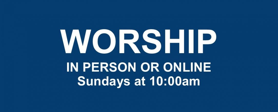 Sign up for indoor in-person worship
