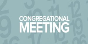 Congregational Meeting – Sun., Nov. 1st