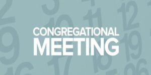 Congregational Meeting – Sun., Nov. 1st