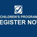 Register for fall children's programming!